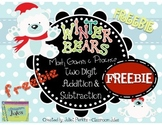 Winter Bears Math {FREEBIE} - Addition and Subtraction of