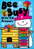 Winter Bee Busy Activities - Fast Finishers Drawers
