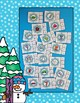 Winter Beginning Consonant Sounds Snowflake Clip Cards