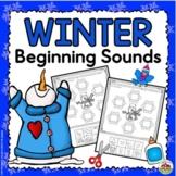 Winter Beginning Sound Printables