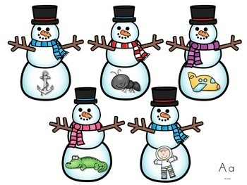 Letters / Letter Sounds / RTI / Winter Activities and Printables