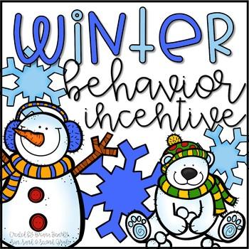 Winter Behavior Incentive Tickets