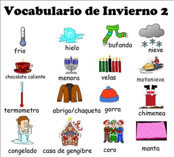Winter Bilingual Activities 2