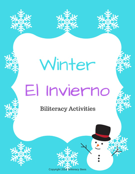 Winter Biliteracy Activities (English & Spanish)