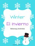 Winter Biliteracy Activities (English & Spanish)