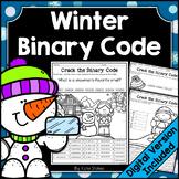 Winter Binary Code STEM Activities