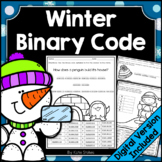 Winter Binary Code STEM Activities | Printable & Digital