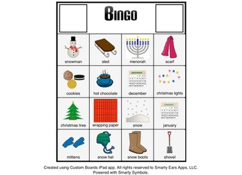 Winter - Bingo