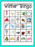 Winter Bingo (30 completely different cards & calling cards included!)