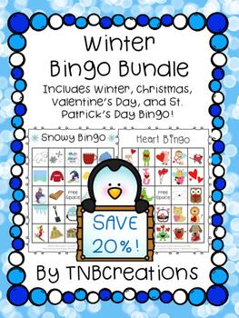Winter Bingo Bundle