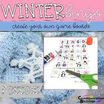 Winter Bingo (Freebie)
