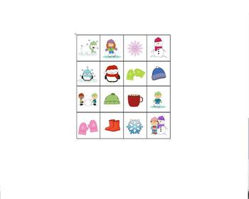 Winter Bingo Full Package
