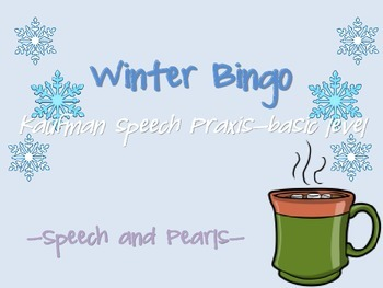 Winter Bingo-Praxis Basic Level