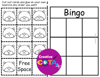 Winter Bingo Set:  Emotions and Feelings