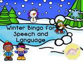 Winter Bingo for Speech and Language