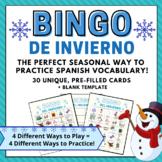Winter Bingo in Spanish  Bingo de Invierno   Lotería de Invierno