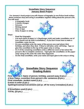 Winter Biography Book Report