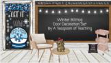 Winter Bitmoji Door Decoration Set