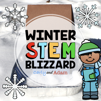 Winter Weather Blizzard Engineering STEM Activity