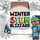 Winter Weather Blizzard Snow Storm Engineering STEM Activity