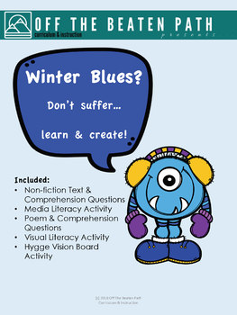 Winter Blues? You won't suffer with these 5 winter-themed literacy lessons!