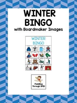 Winter - Boardmaker Bingo