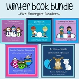 Winter Book Bundle: Five Emergent Readers with Differentia