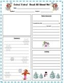 Winter Book Report Form