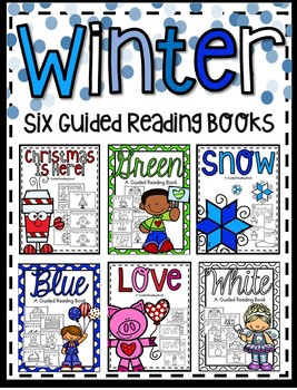 Winter Easy Reader Guided Reading Books **Six Bundle Set**