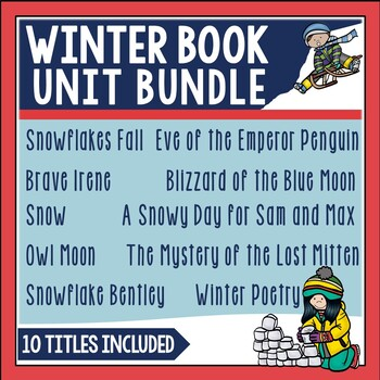 Winter Book Unit Bundle