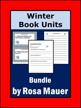 Winter Book Units Bundle