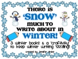 Winter Book Writing!  3 Unique Books To Write & Winter Craftivity Pack!