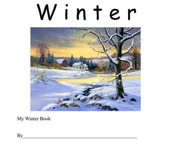 Winter Book for the young