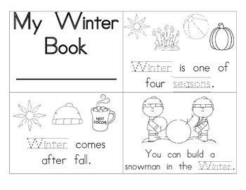 Winter Booklet