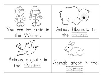 Winter Booklet