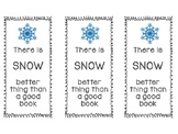 Winter Bookmark Template