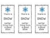 Winter Bookmark Template