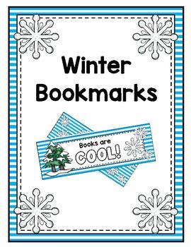 Winter Bookmarks