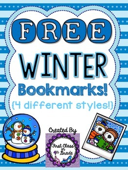 Winter Bookmarks (Free)