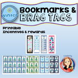 Winter Brag Tags and Bookmarks