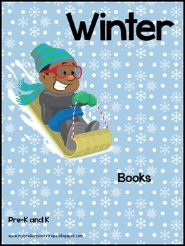 Kindergarten Winter Emergent Reader Books