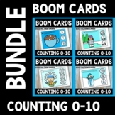 Winter Boom Card Bundle - Counting and Recognizing Numbers