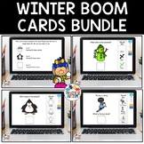Winter Boom Cards Bundle | Distance Learning