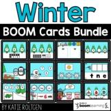 Winter Boom Cards™ Bundle for Kindergarten Distance Learning