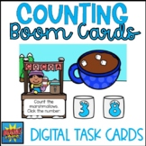 Winter Boom Cards- Counting Marshmallows