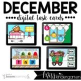 December Boom Cards™ for Kindergarten