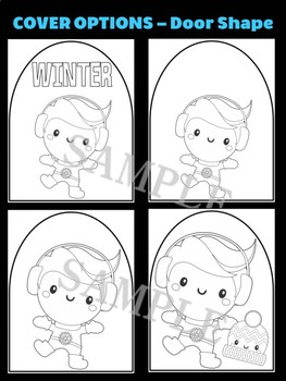 Winter Boy with Hat & Boots - Moonju Makers Activity, Craft, Writing, Decor