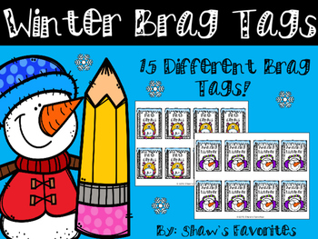 Winter Brag Tags