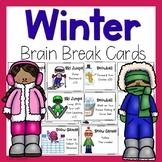 Winter Brain Break Cards
