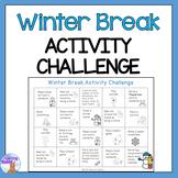 Winter Break Activity Challenge